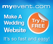 Get Your Wedding Website with My Event Today!