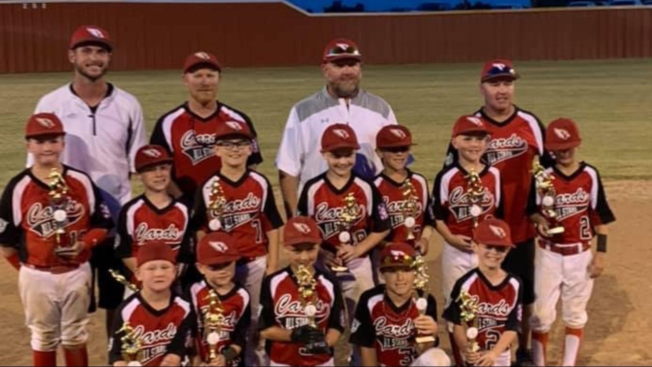 8U Pottsboro Cardinal AllStars