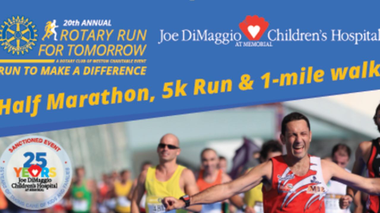 Rotary Run for Tomorrow Fundraiser