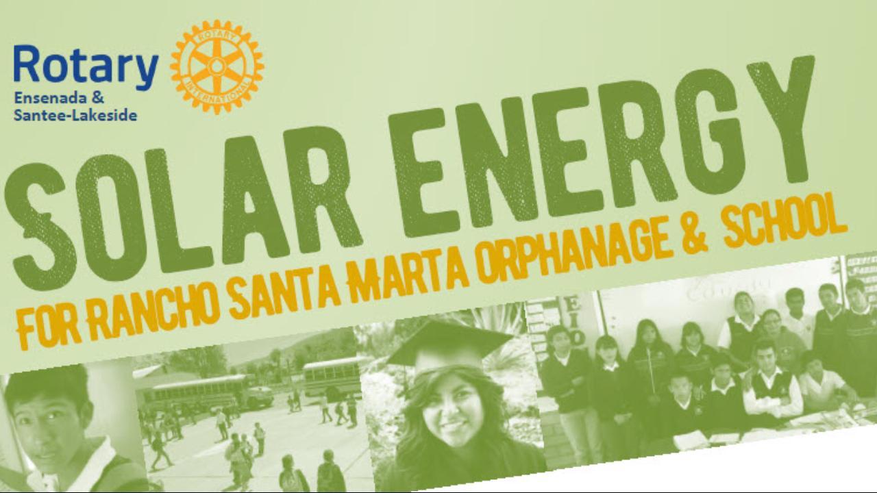 Solar Energy for Rancho Santa Marta