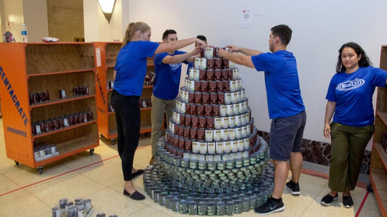 ESD/IA Chicago CANstruction