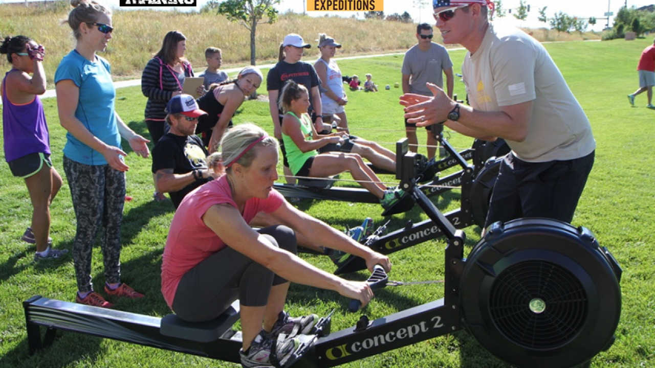 Veteran's Expeditions fundraiser workout