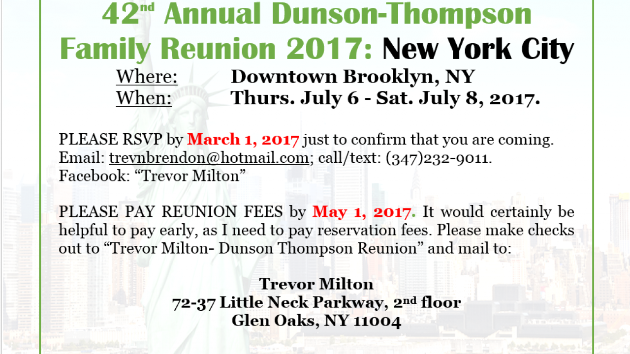 Dunson-Thompson