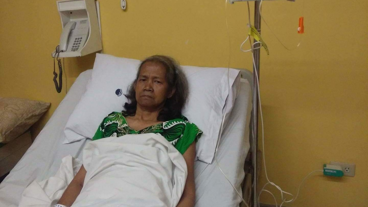 Nanay Yolly's Medical Needs - Lung Cancer