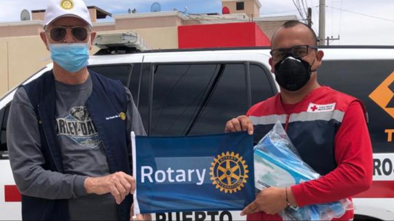 Puerto Peñasco Rotary Club Medical Supply Support