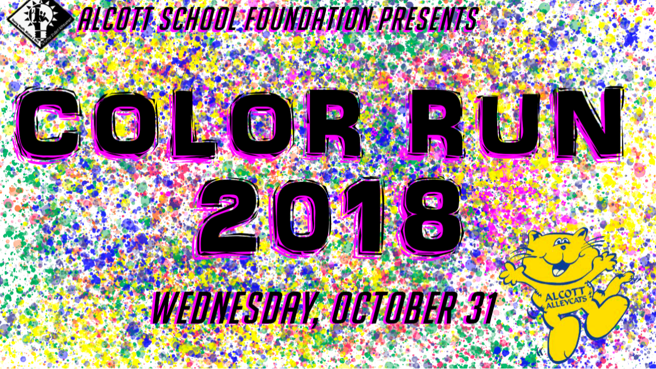 Alcott's 2nd Annual Color Run