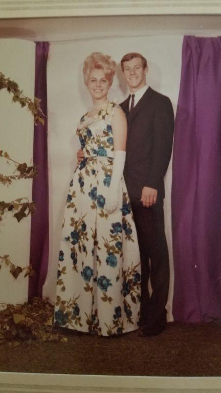 Senior prom with Christy Dockery. Now with the Folk Legacy Trio.