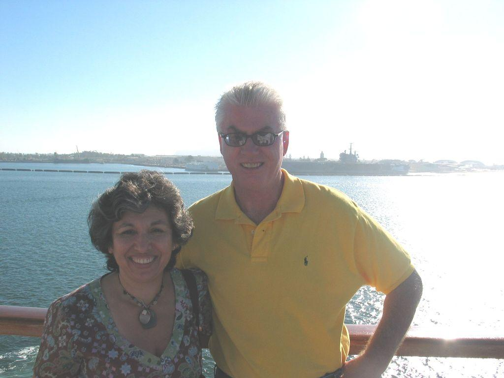 On a cruise to Puerta Villarta, Mazatlan, and Cabo San Lucas with my wife Maggy